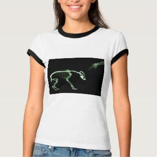Bad Dog X-ray Skeleton in Green Shirts