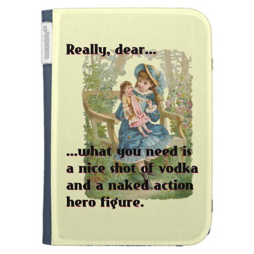 Bad Dolly Kindle 3G Covers