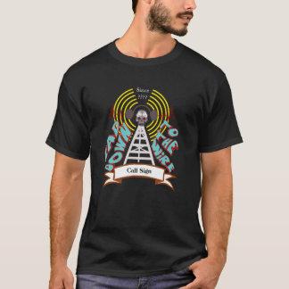 Bad Down To The Wire Ham Radio Biker Style T-shirt