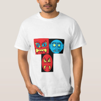 BAD DREAM (2), Blue Man (2), RED MAN 2 (2) T-Shirt