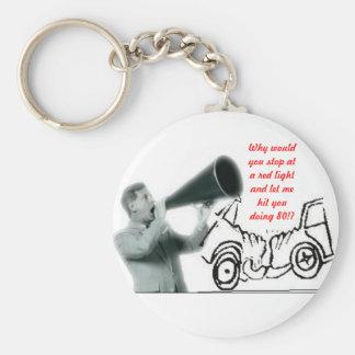 Bad Driver Key Chain