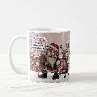 Bad Drunk Santa, Bad santa Christmas Gift Mug