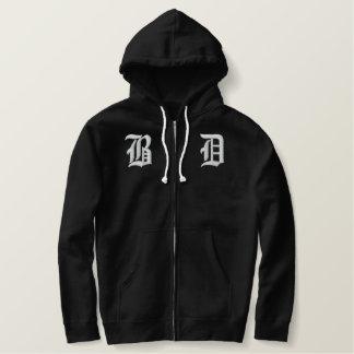 Bad Dude Ltd. sherpa-lined zip hoodie