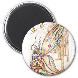 Bad Faerie 1 2 Inch Round Magnet