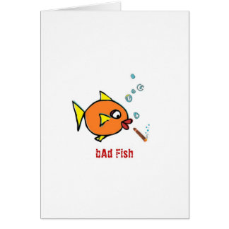 bAd Fish extras Card