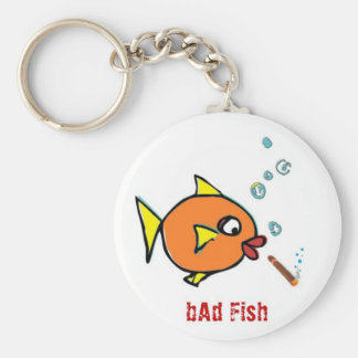 bAd Fish extras Keychain