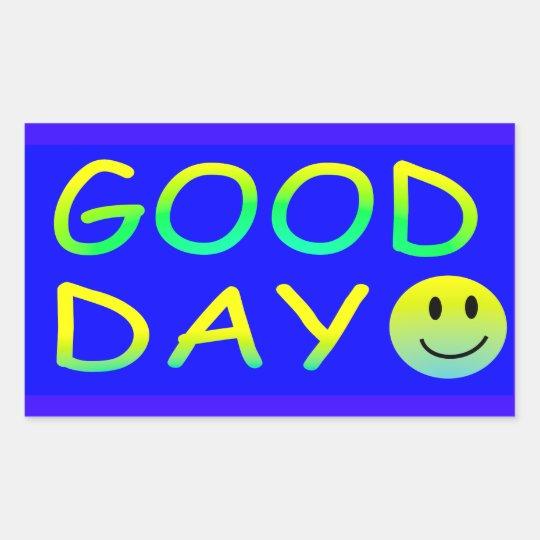 Bad Flare Day/ Good  Day Rectangular Sticker