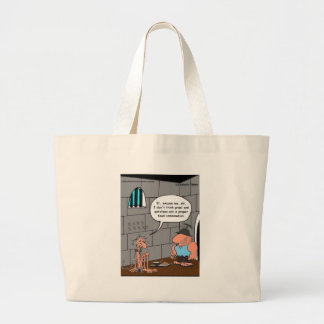 Bad Food Combination Funny Gifts & Tees Large Tote Bag