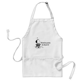 Bad food : Whatcha Gonna Do About It? Adult Apron