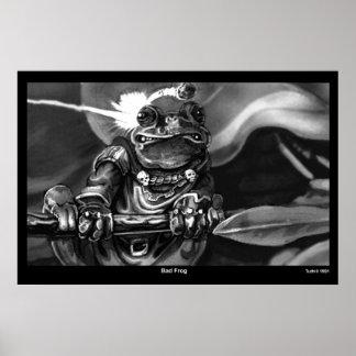 Bad Frog Poster
