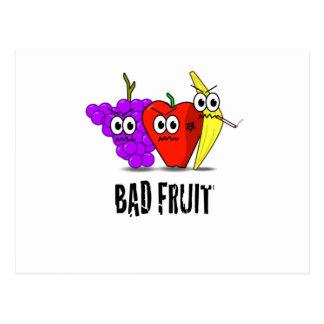 BAD FRUIT! POSTCARD