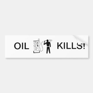 Bad gas prices? bumper sticker