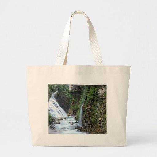 Bad Gastein upper falls Jumbo Tote Bag