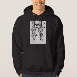 Bad Girl Hooded Sweatshirt