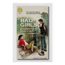 Bad Girls Book Cover Poster