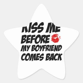 Bad girls designs star stickers