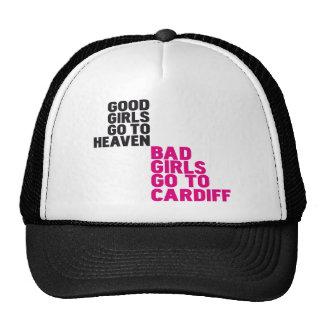 Bad girls go to Cardiff Trucker Hat