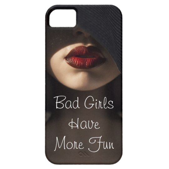 Bad Girls Have More Fun iPhone SE/5/5s Case