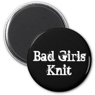 Bad Girls Knit Magnet