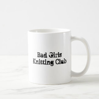 Bad Girls Knitting Club Coffee Mug