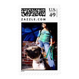 Bad Girls Postage Stamp