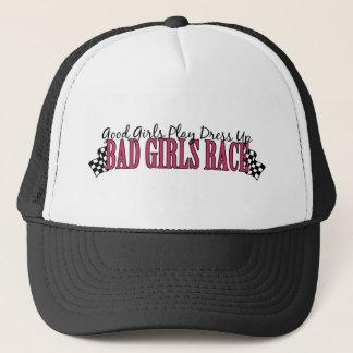 Bad Girls Race Trucker Hat