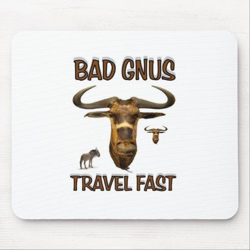bad gnus mousepad