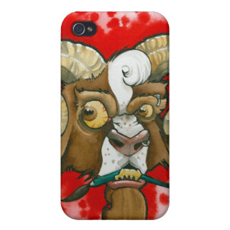 """""""Bad Goat!"""" iPhone 4 Cover"""