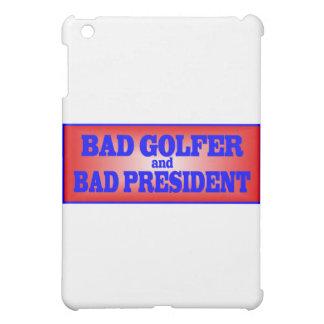 BAD GOLFER AND BAD PRESIDENT png iPad Mini Case