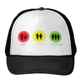 Bad Good Excellent Trucker Hat