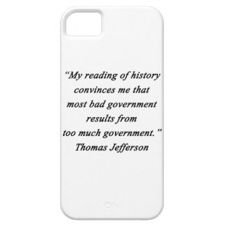 Bad Government - Thomas Jefferson iPhone SE/5/5s Case