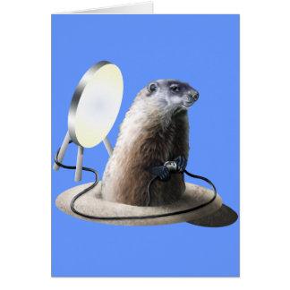 Bad Groundhog Card