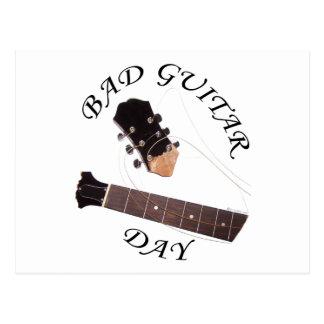 Bad Guitar Day Postcard