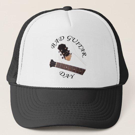 Bad Guitar Day Trucker Hat