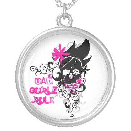 Bad Gurlz Rule Necklace