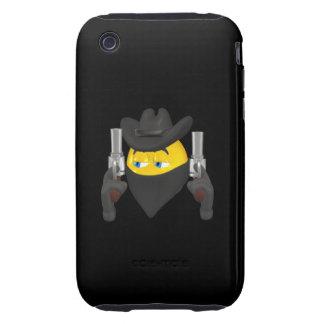 Bad Guy Cowboy 2 Tough iPhone 3 Case