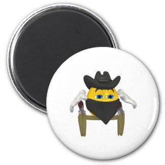 Bad Guy Cowboy 3 Magnet