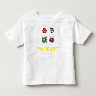Bad Guys Don't Win Medals Toddler T-shirt
