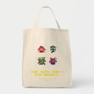 Bad Guys Don't Win Medals Tote Bag