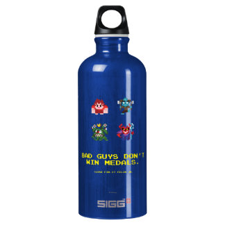 Bad Guys Don't Win Medals Water Bottle