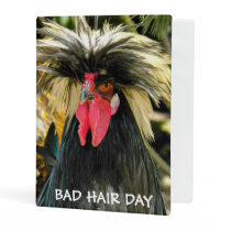 Bad Hair Chicken Photo Mini Binder