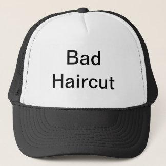 Bad hair cut trucker hat