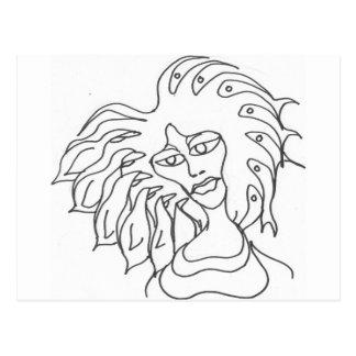 bad hair day_0004 postcard