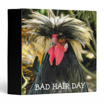 Bad Hair Day Chicken Image Binder