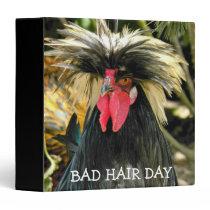 Bad Hair Day Chicken Photo Binder