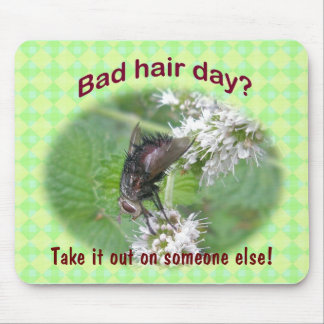 Bad Hair Day Fly Coordinating Items Mouse Pad