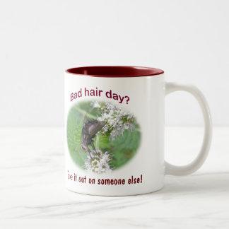 Bad Hair Day Fly Coordinating Items Two-Tone Coffee Mug
