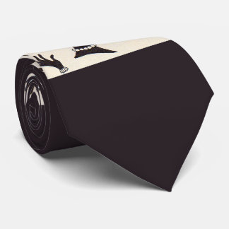 bad hair day good hair day print neck tie
