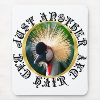 Bad hair day! mouse pad