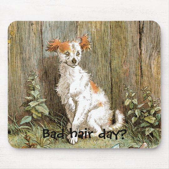 Bad Hair Day Mousepad